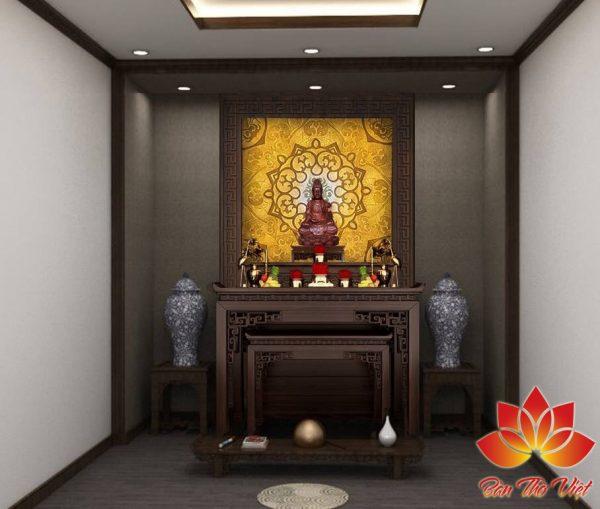 TOP 6+ Mẫu nội thất phòng thờ đẹp được thiết kế CHUẨN phong thủy