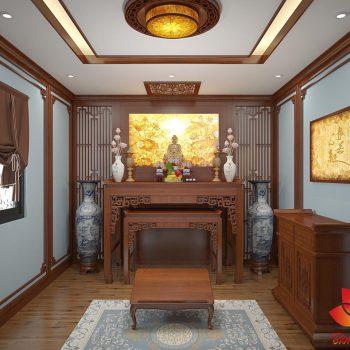 Các mẫu đèn trang phòng thờ Đẹp và Ấn Tượng cho không gian thờ cúng