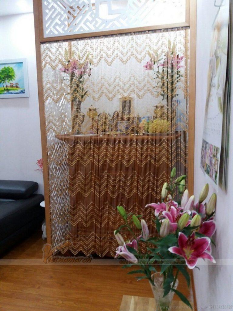 Rèm phòng thờ| Cách lựa chọn rèm che bàn thờ CHUẨN nhất